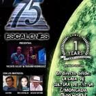 1º Aniversario de 75 ESCALONES