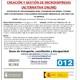 CreaciÓn y gestiÓn de microempresas (certificado de profesionalidad nivel 3)
