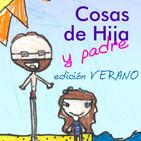 Cosas de Hija y padre 047 - Edición Verano 04, Jugando con la tablet
