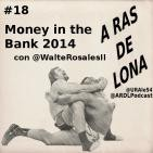 A Ras De Lona #18 - WWE Money in the Bank 2014