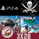 GR (3X28) La piratería en esta generación, Filtraciones PS4, Firestorm, Eternity: The Last Unicorn y Trials Rising