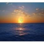 Meditación del océano azul