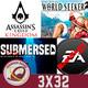GR (3X32) Assassin's Creed Vikingos, La magia de Bioware, Submersed, One Piece: World Seeker, Sekiro en fácil