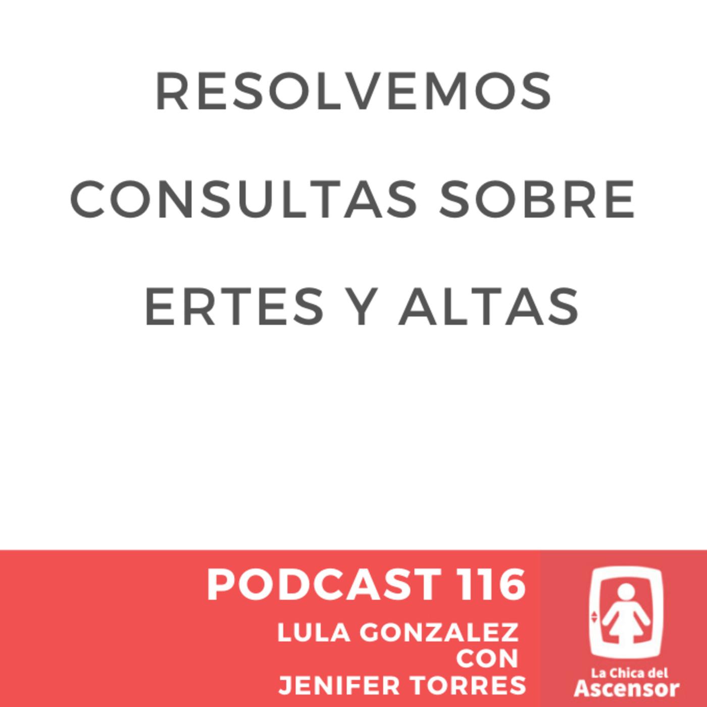 116 - Resolvemos tus dudas y consultas sobre ERTEs y altas