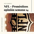 NFL Pronósticos semana 14