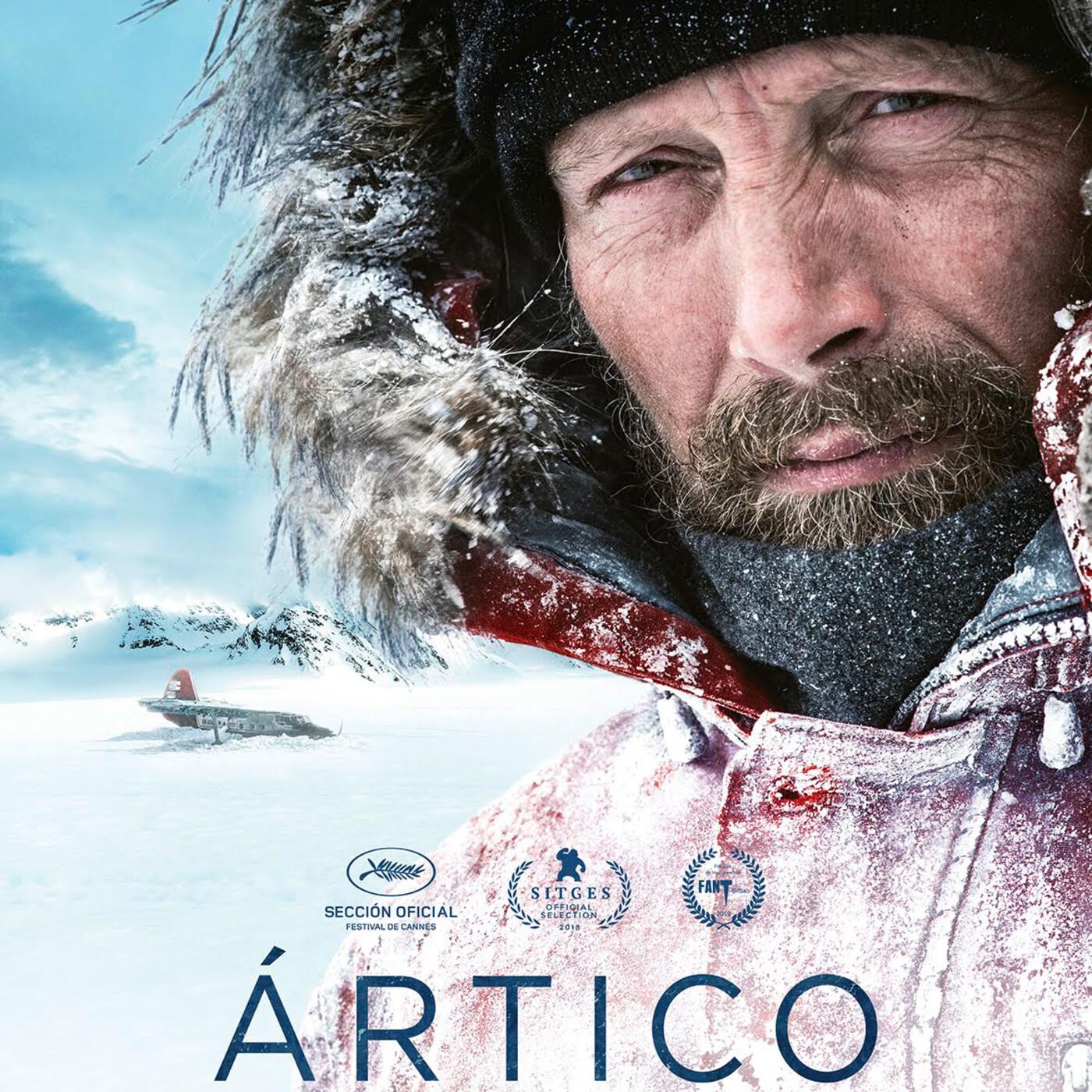 Ártico (2018) #Aventuras #Supervivencia #Naturaleza #peliculas #audesc #podcast