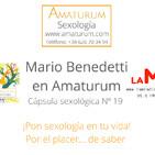 Mario Benedetti en Amaturum Sexología