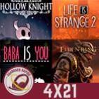 GR (4X21) Filtraciones Elden Ring y GTA VI, Retrasos, PlayStation mira al PC, Hollow Knight, Baba is you y LIS 2