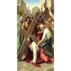 3/14 - Jesus cae por primera vez cargando la Cruz.
