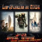 LMG 2x03 : La Llegada (Arrival)-Hasta el último hombre(Hacksaw Ridge)-Animales Fantásticos y dónde encontrarlos+Extra 02