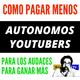 Autónomos| Youtubers| Como Pagar Menos De Autónomo| Cuota de Autonomos| Tarifa Plana| Pluriactividad