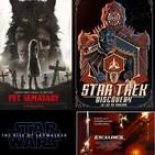 Ningú no és perfecte 18x32 -Tràiler Star Wars IX, Star Trek: La luz de Kahless, el rei Artús i Cementerio de animales