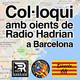 Col·loqui amb oients de Radio Hadrian del 24/09/2018