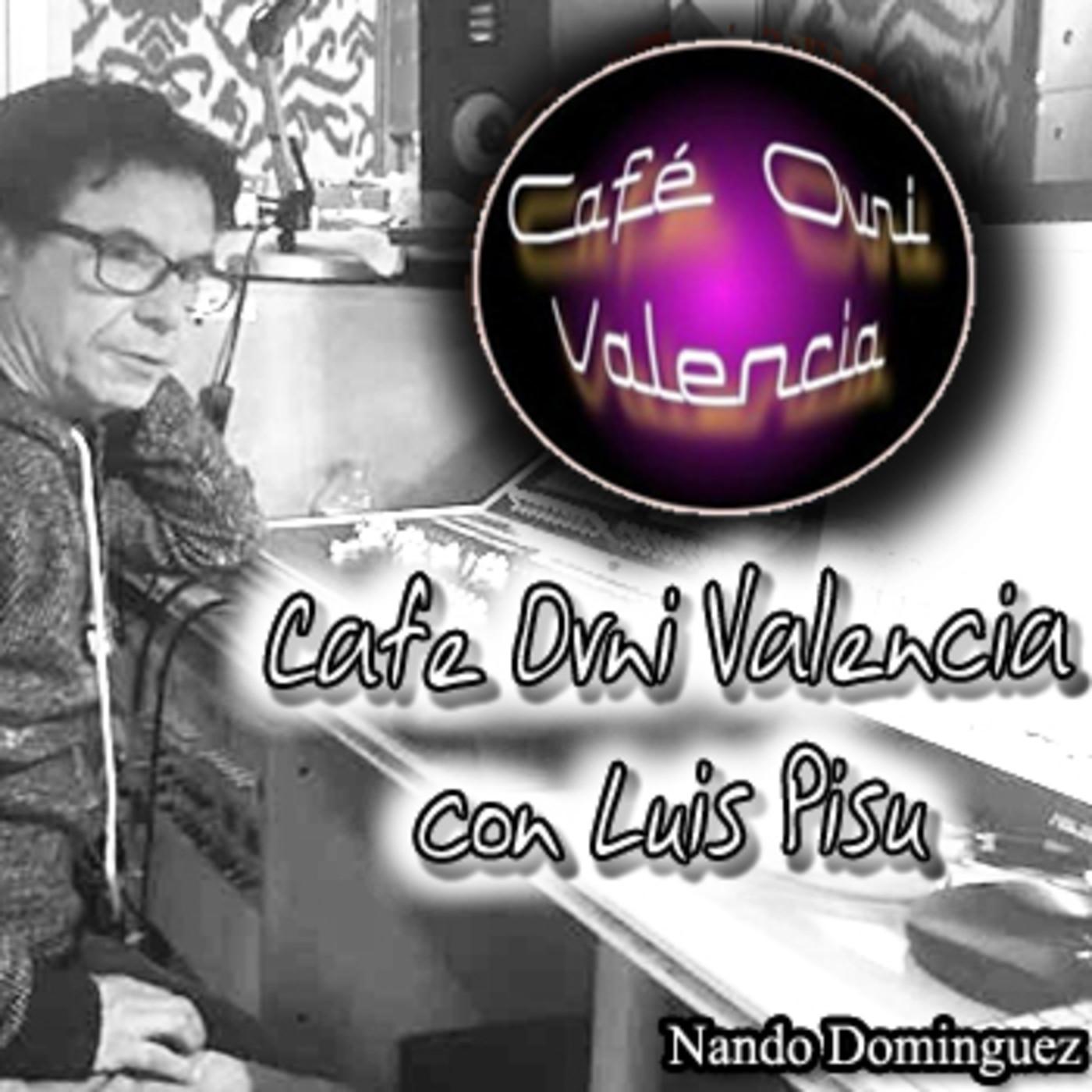 La Puerta Al Universo - Cafe Ovni Valencia con su director Luis Pisu
