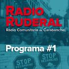 Radio Ruderal 01 - 25.02.2018 - Vivienda, Okupación y 8Marzo en Carabanchel