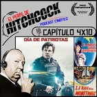 El Perfil de Hitchcock 4x10: Día de patriotas, La nave de los monstruos y El huevo de la serpiente.