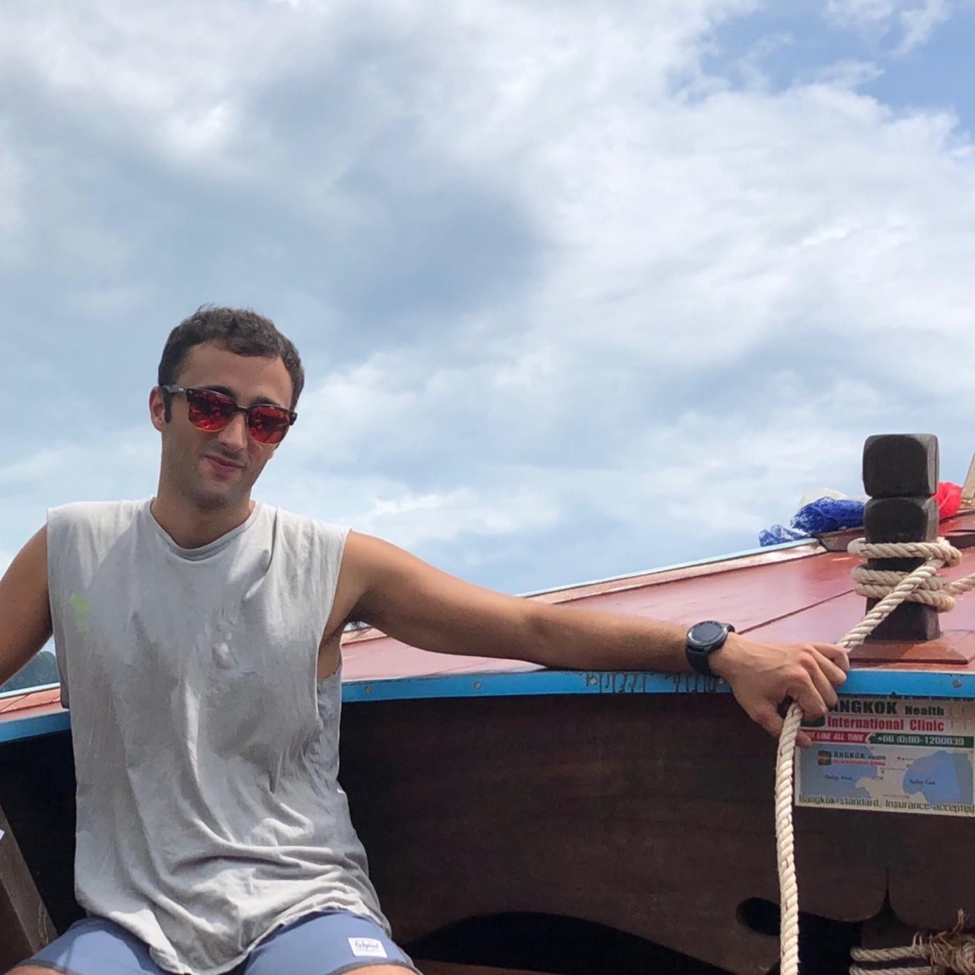 #61 Railey: escalada, playas paradisíacas y por qué no debes ir a Koh Phi Phi