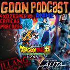 LMG 4x02: Críticas Precoces. [Especial Anime] Illang, Alita y Dragon Ball Super Broly