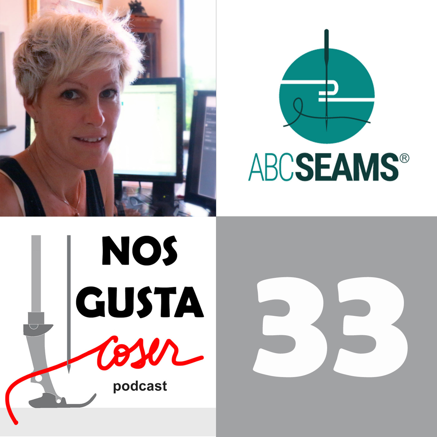 101 Costuras con ABC Seams