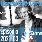 El Cantor de Jazz 2021x03: Especial Chick Corea