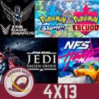GR (4X13) The Game Awards, Lo mejor del Black Friday, AC Ragnarok, Jedi Fallen Order,Pokémon espada/escudo y NFS: Heat
