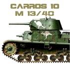 Carros 10 #17 Carro Armato M13/40, el tanque italiano - Segunda Guerra Italia África Rommel Graziani