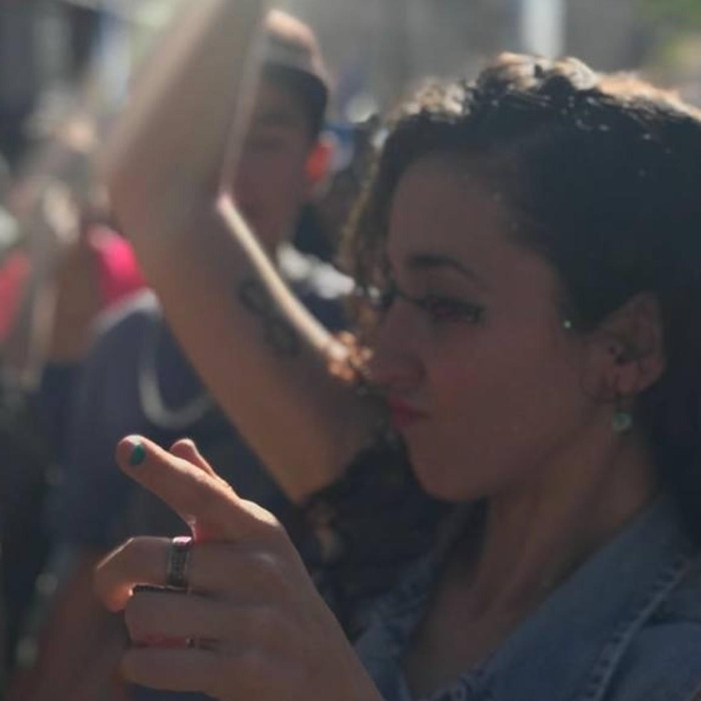 Nadia Desimone,del colectivo 3 Ombues