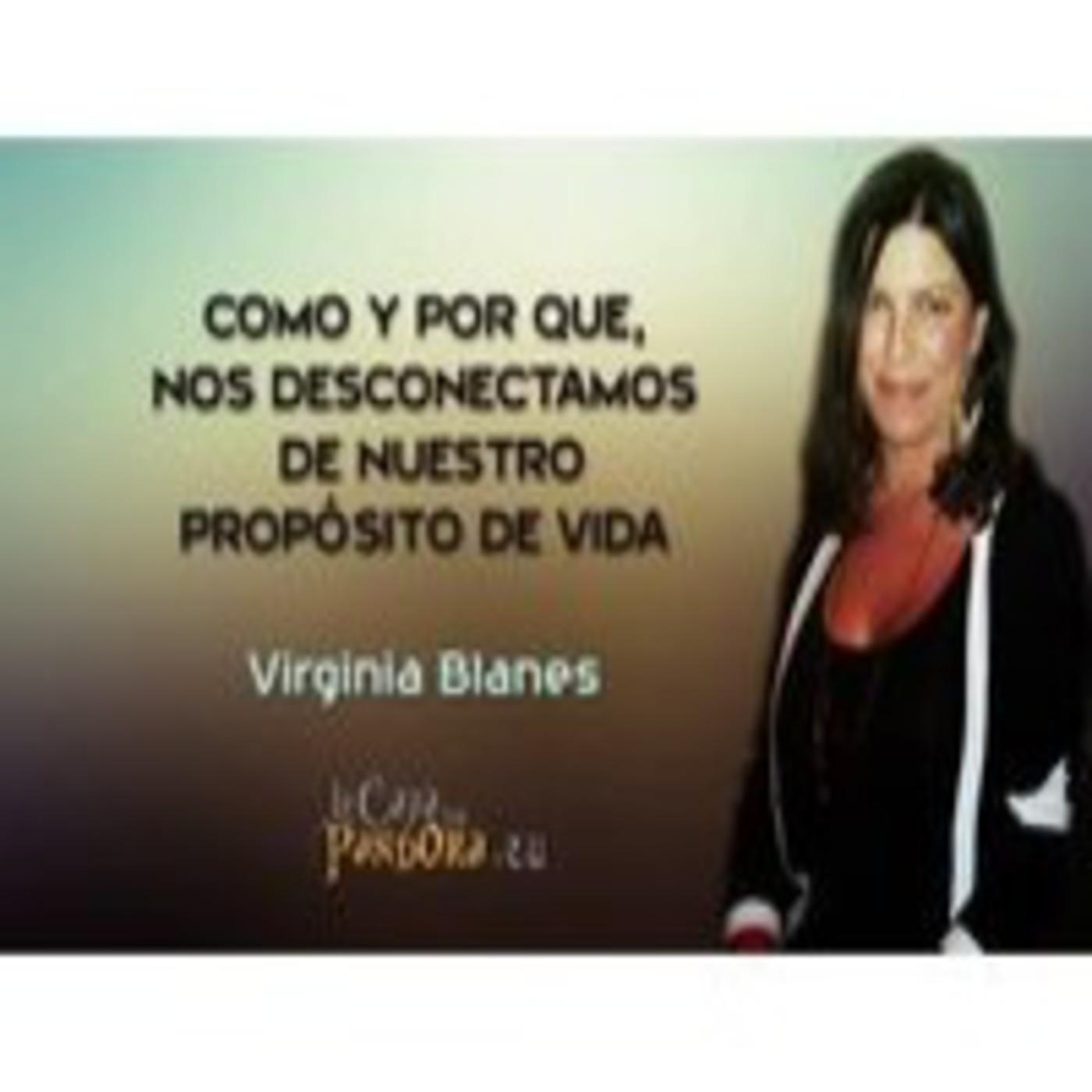 Como y por que, nos desconectamos de nuestro propósito de vida – Virginia Blanes 1º Parte de 2