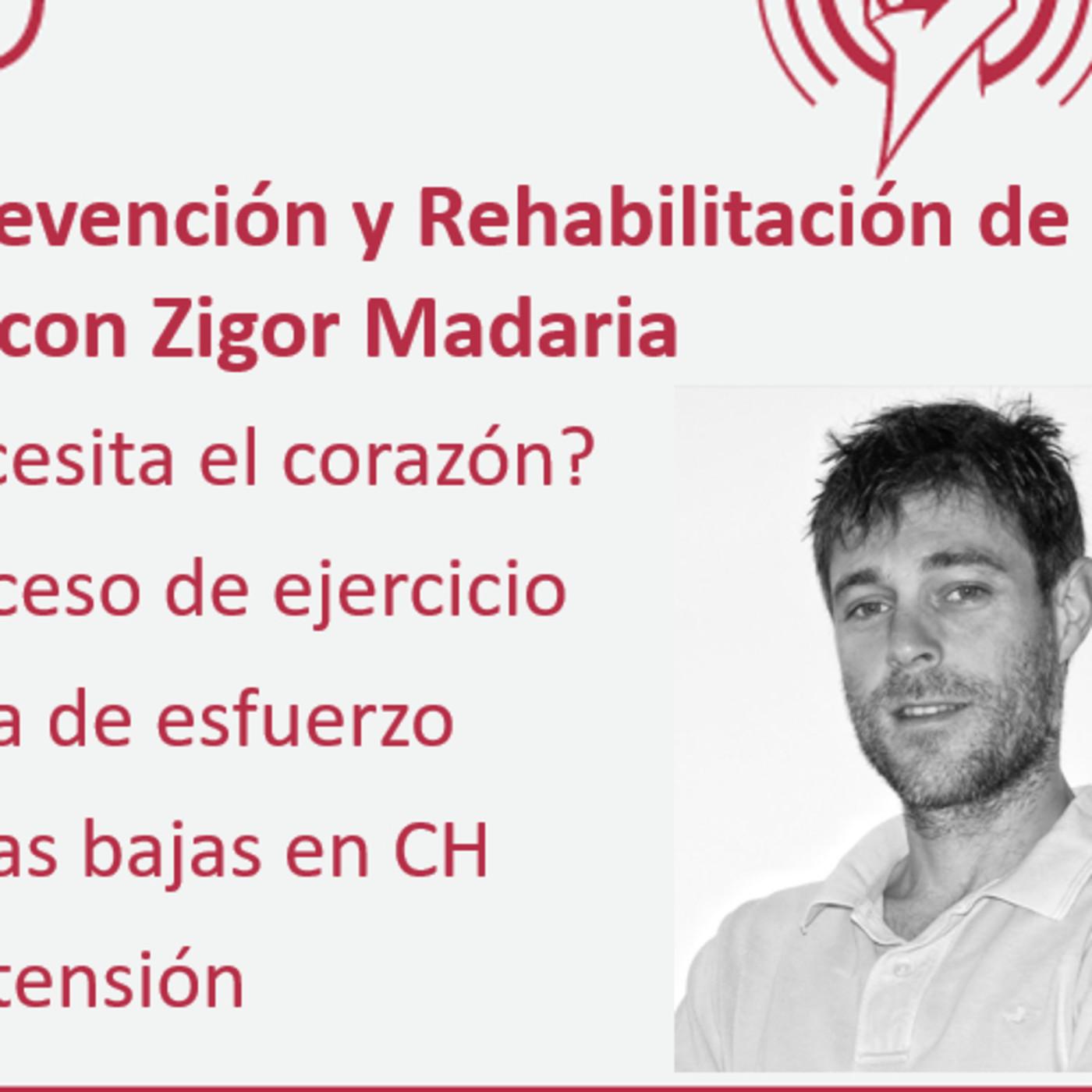 205: Actividad Física en la Prevención y Rehabilitación de la Enfermedad Cardiovascular, con Zigor Madaria