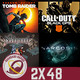 GR (2x48) Red Dead Redemption 2, CoD: Black Ops 4, Shadow of the Tomb Raider, Noahmund, Narcosis.