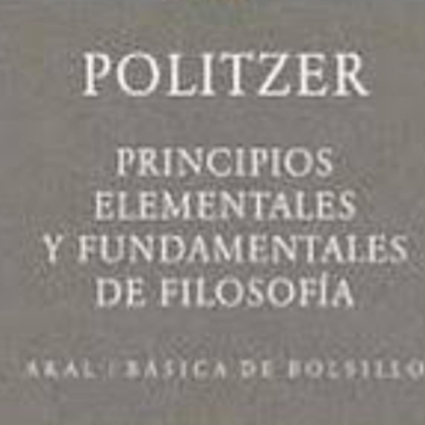 Principios elementales y fundamentales de la filosofia