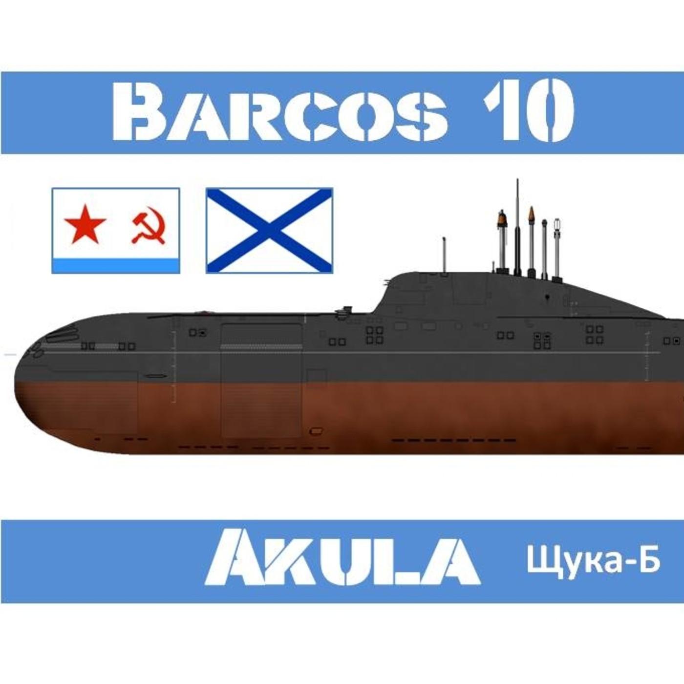 B-10#28 AKULA, Tiburón Silencioso