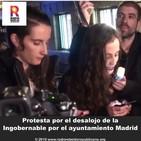 Protesta por el desalojo de 'La Ingobernable' por el ayuntamiento