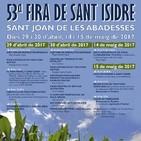 29 i 30 d'abril, i 14 i 15 de maig, 53a Fira de Sant Isidre a Sant Joan de les Abadesses