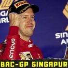 BAC 3x19 Análisis GP Singapur - Victoria de Ferrari, derrota de Leclerc