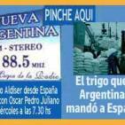 Eduardo Aldiser con Oscar Pedro Juliano - 01-06-2016 Radio Nueva Argentina FM 88.5 - Trigo argentino