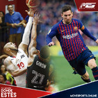 Move Sports 00153   Guaros y San Lorenzo por el titulo de la LDA 2019, Barcelona ganó de la mano de Messi.