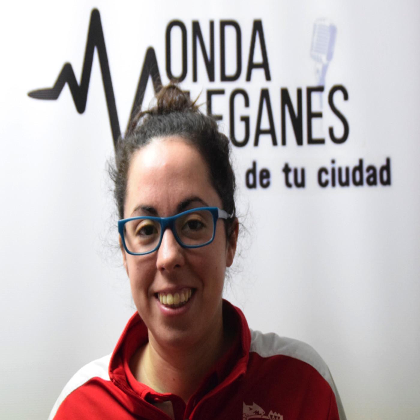 Mónica Arce en Leganés Deportivo (4 Febrero 2018)
