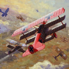 """54 ¿Por qué pintó Manfred von Richtofen su avión de rojo """"chillón""""? - Relatos Históricos"""