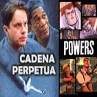 LODE 4X25 -Archivo Ligero- CADENA PERPETUA (libro + film), POWERS el cómic