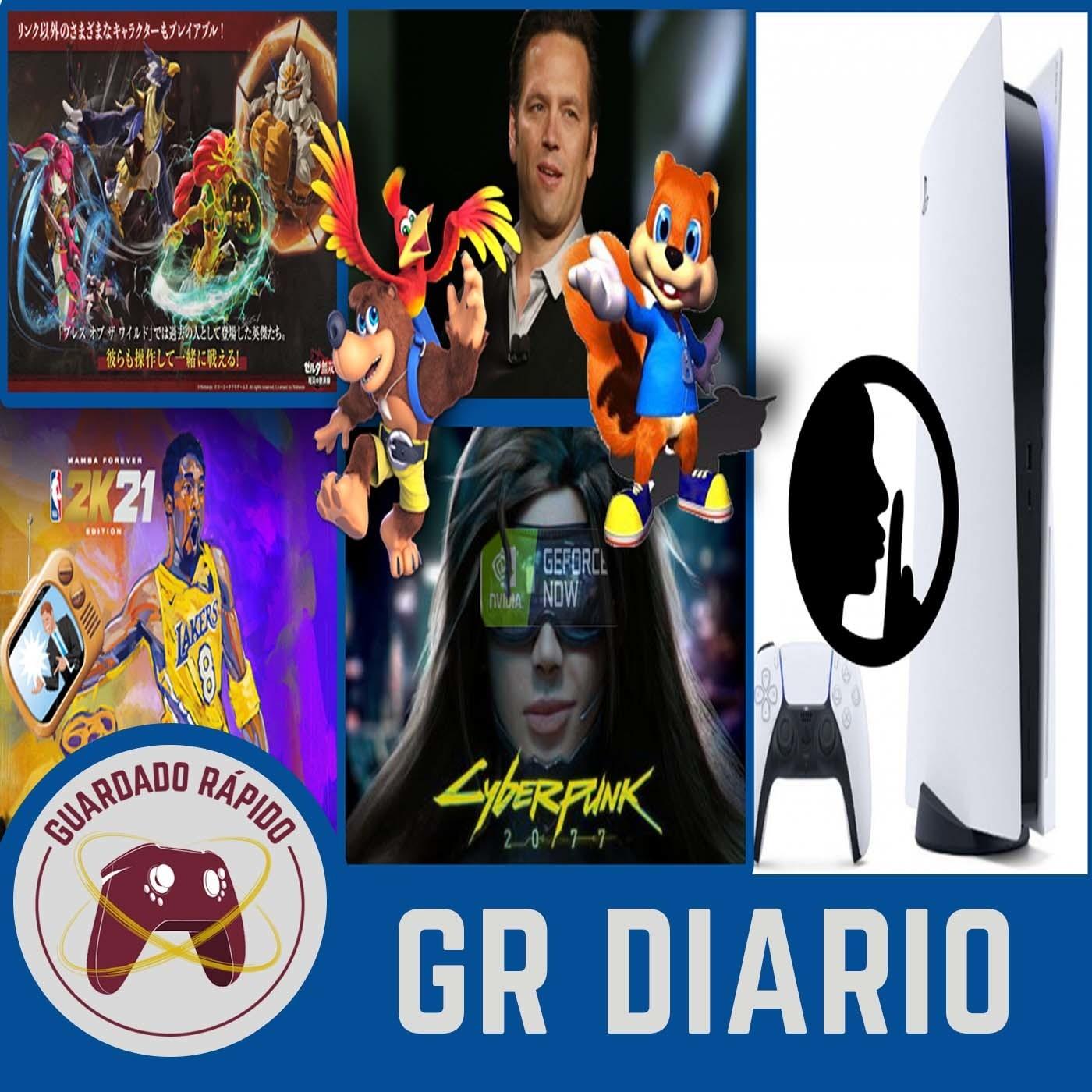 GRD (19/10/20) ¿CONKER y BANJO EN XBOX?   VENTAS SERIES X/S   NBA 2K21 ANUNCIOS   ¿PS5 NOS ESPÍA?