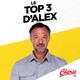 TOP 3 d'Alex du Réveil Chérie - 01 juin 2020