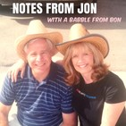 Notes from Jon with a babble from Bon
