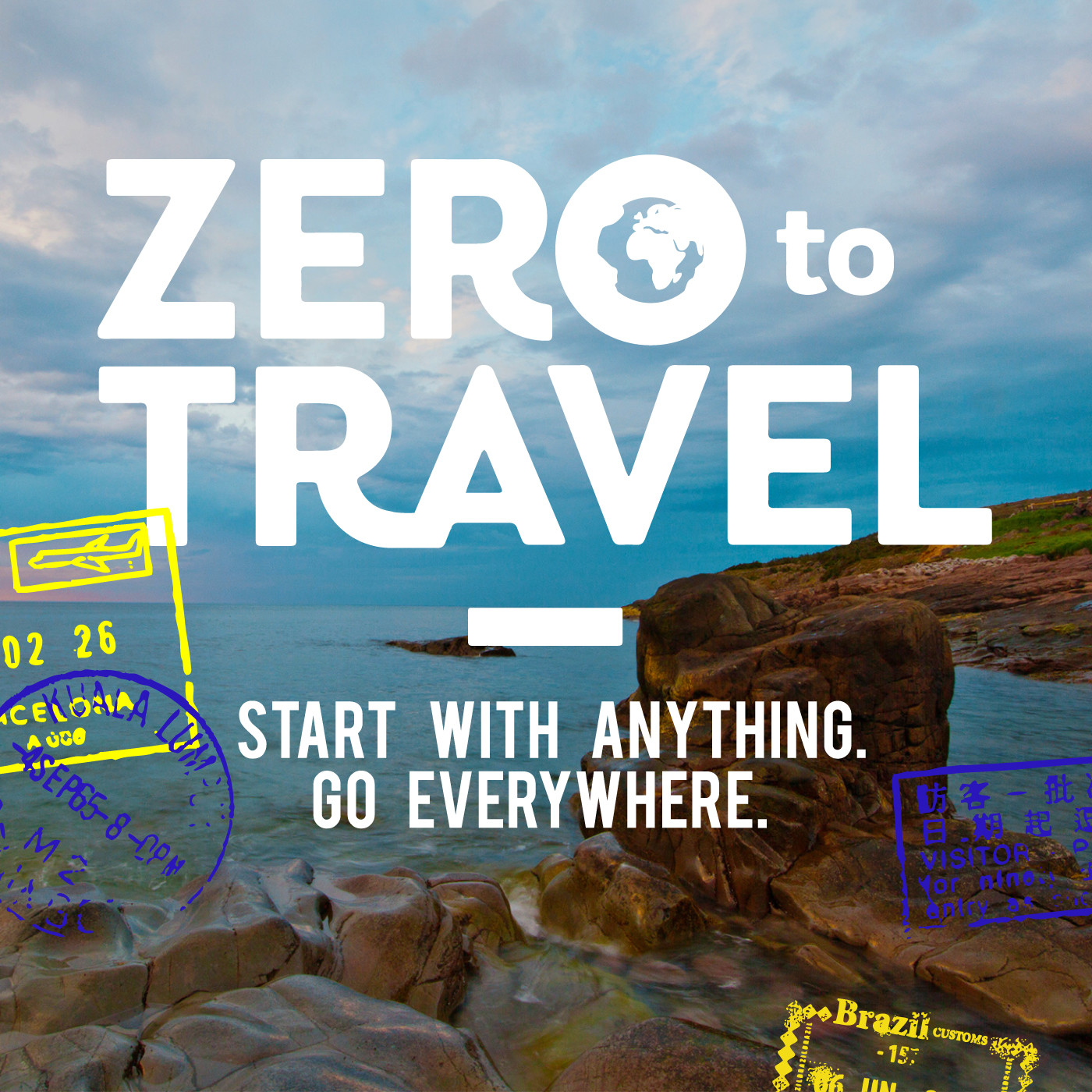 Zero To Travel Podcast : National Geographic Type