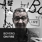 Boyero on fire