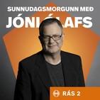 Jón Jónsson var einlægur að vanda í viðtali þáttarins