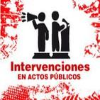 Intervenciones en actos públicos