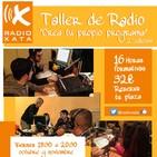 """II Taller de Radio """"Crea tu propio programa"""""""