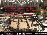 Community Watch & Comment - Wednesday - Wed, 18 Jul 2018 11:00:01 -0400