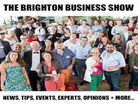 The Brighton Business Show January 2016, sponsored by Covers Timber and Builders